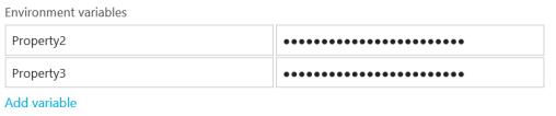 AppVeyor settings