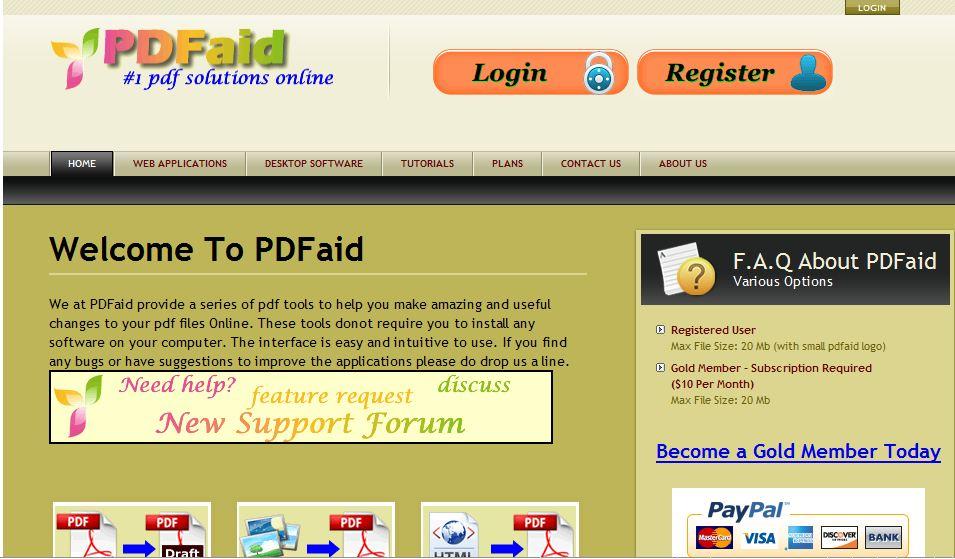 html form to pdf converter