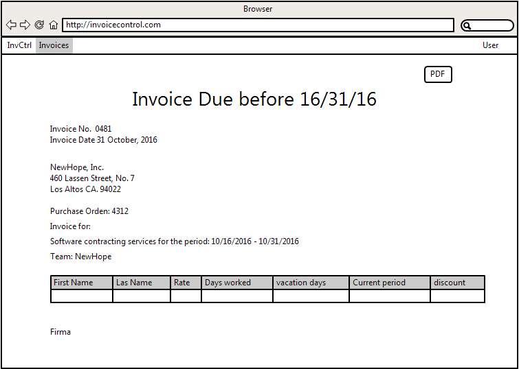 invoices kwantec invoicecontrol wiki github