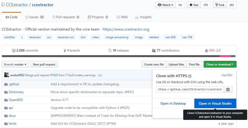 "Click ""Download for Visual Studio"""