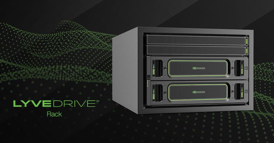 Seagate: Lyve Drive Rack