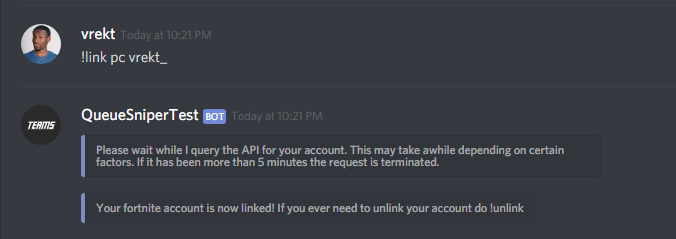 GitHub - Vrekt/QueueSniper3: A discord bot for hosting Fortnite