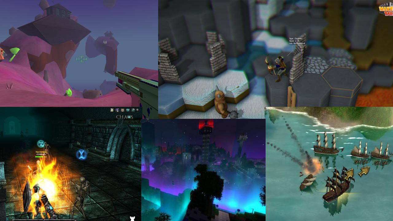 jME3 Games Mashup