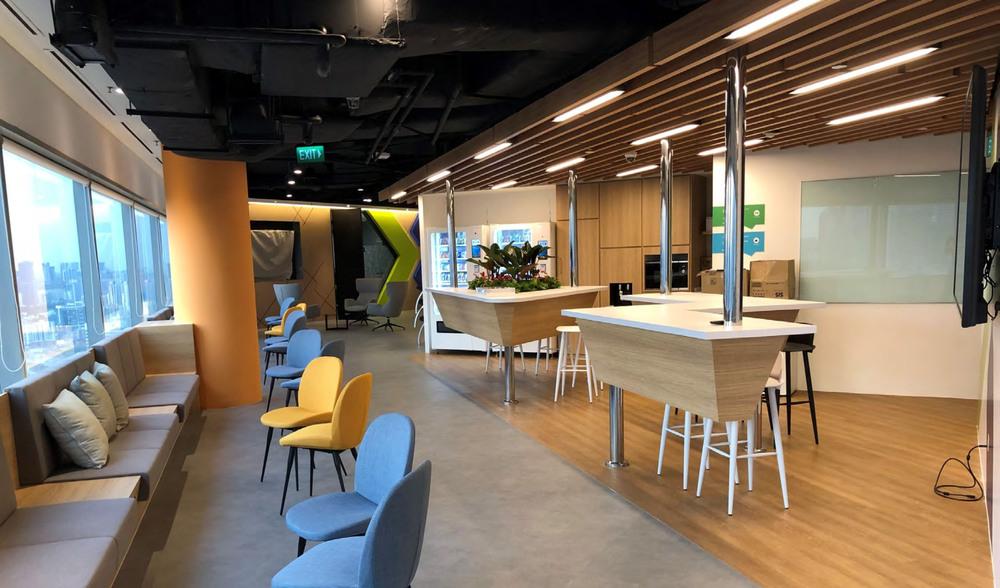 Nutanix: Open meeting spaces