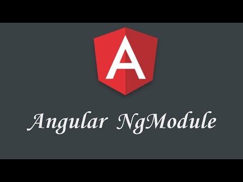 Thumbnail Angular NgModule tutorial