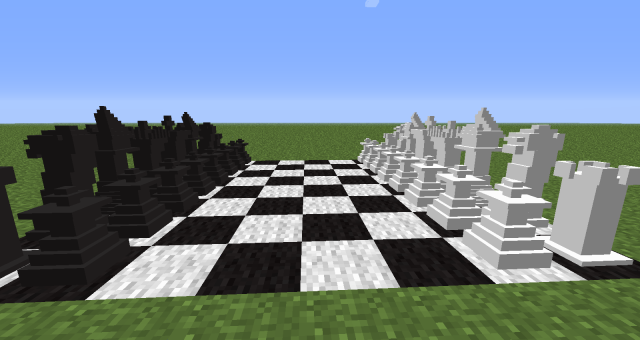 Chessmate in the Minecraft mod, MineChess