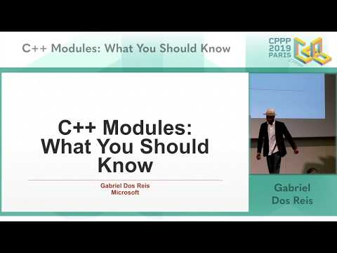 C++ Modules: What You Should Know Video