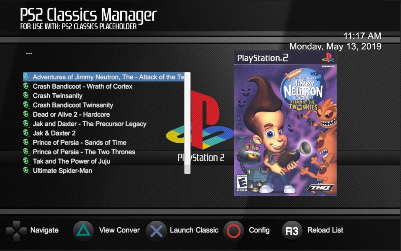 GitHub - xXxTheDarkprogramerxXx/PS2-Classics-Replacer: PS2