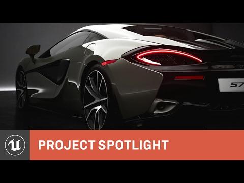 McLaren 570S Unreal Engine 4 Cinematic Trailer