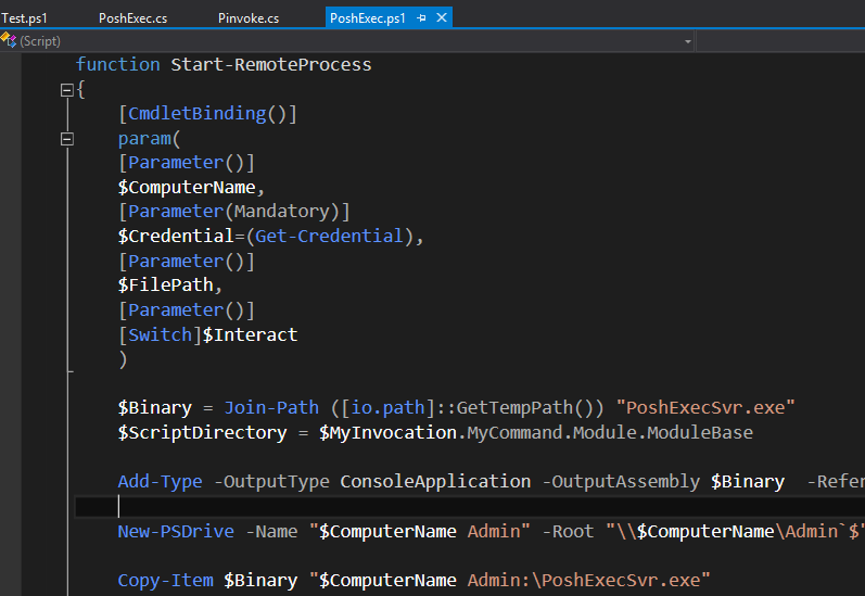 GitHub - adamdriscoll/poshtools: PowerShell integration for