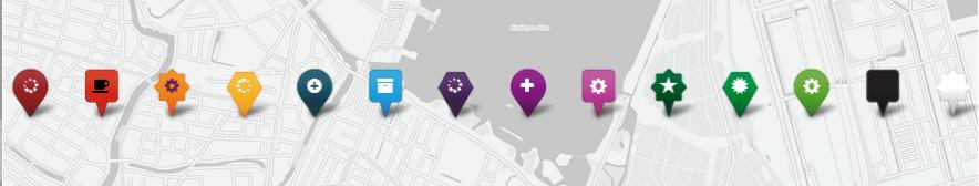 GitHub - coryasilva/Leaflet ExtraMarkers: Custom Markers for Leaflet