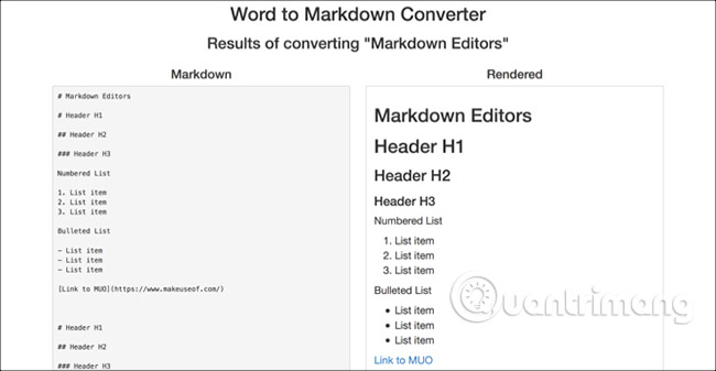 Word to Markdown Converter