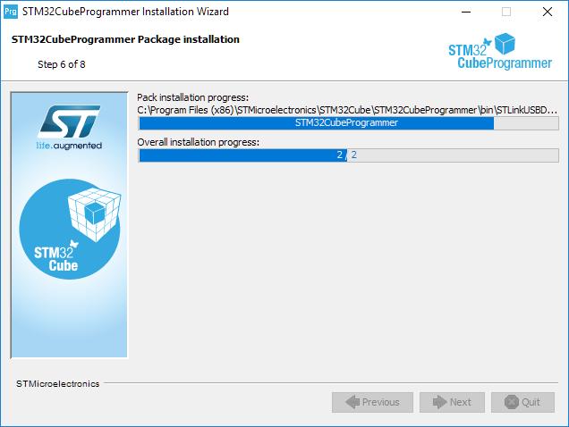 Install programmer step 6