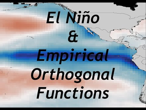 How to apply EOFs to identify ENSO