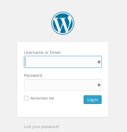 Login screen custom user-defined label preview