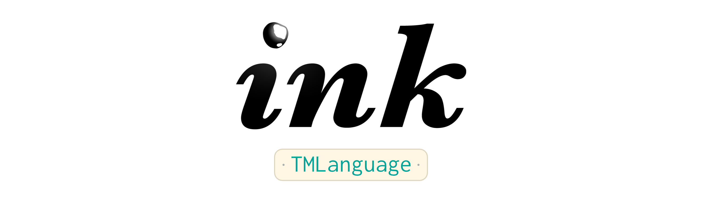 Ink TMLanguage