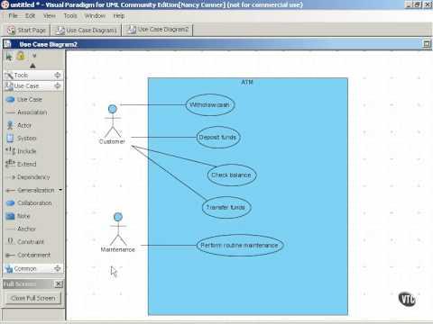 Use Case Diagram Tutorial Youtube Auto Electrical Wiring Diagram
