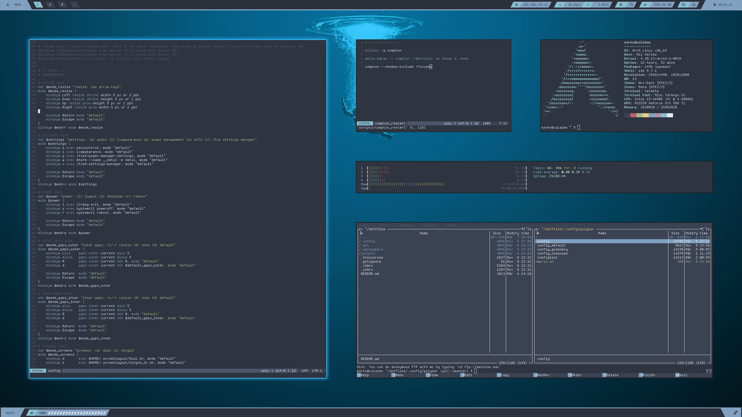 GitHub - suchtie/dotfiles: Desktop rice