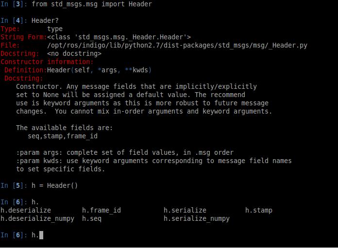 ipython screenshot
