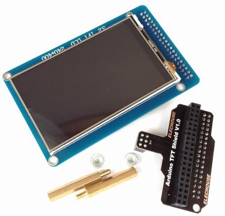 GitHub - elechouse/tft_shield: Arduino library for elechouse