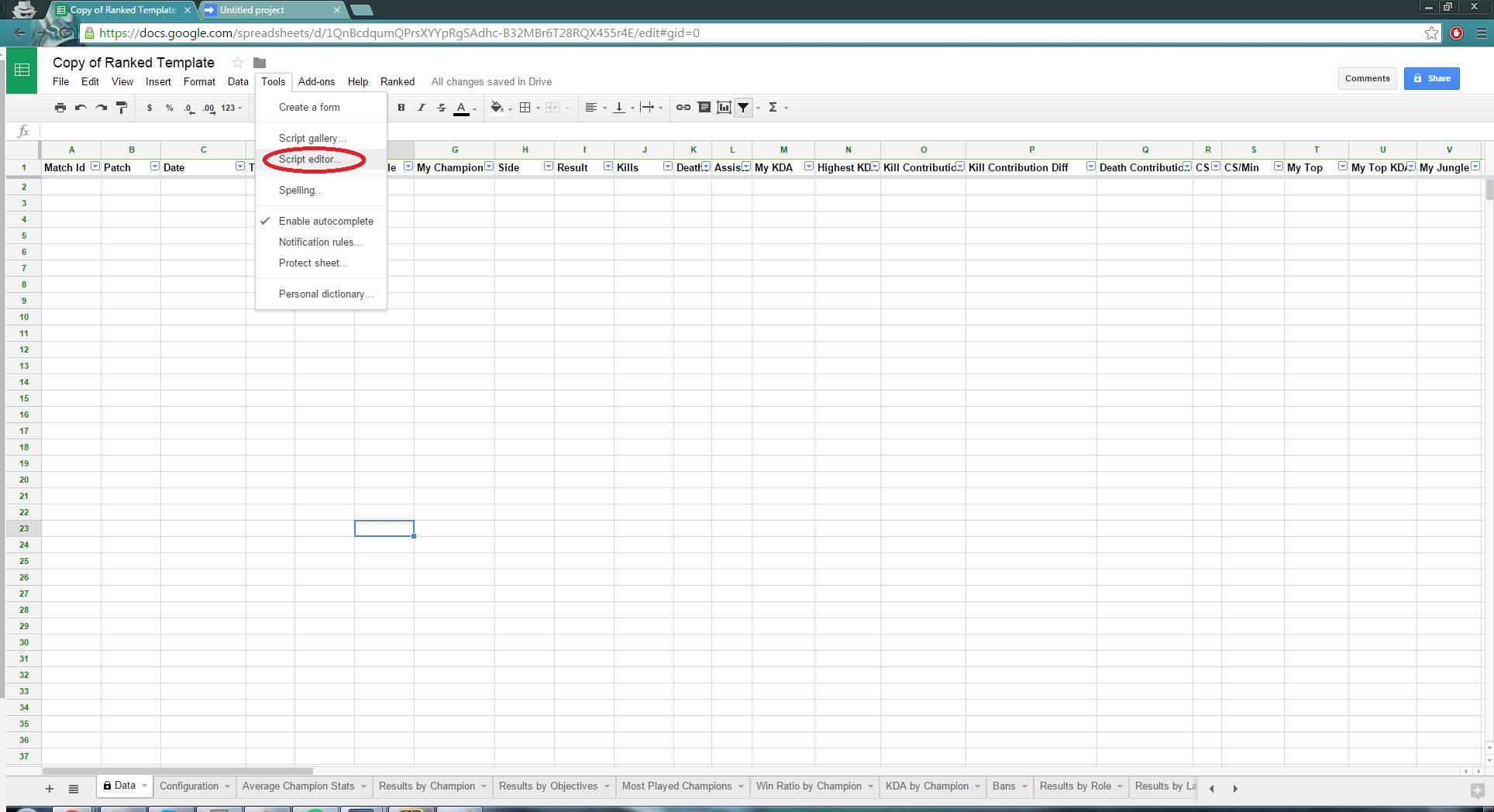 GitHub - darksteel88/LeagueRankedScript: A Google Sheets add-on that