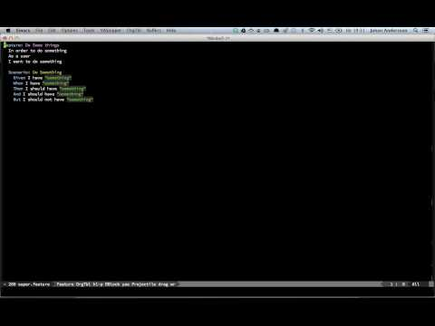 GitHub - ecukes/ecukes: Cucumber for Emacs