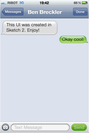 Messages UI