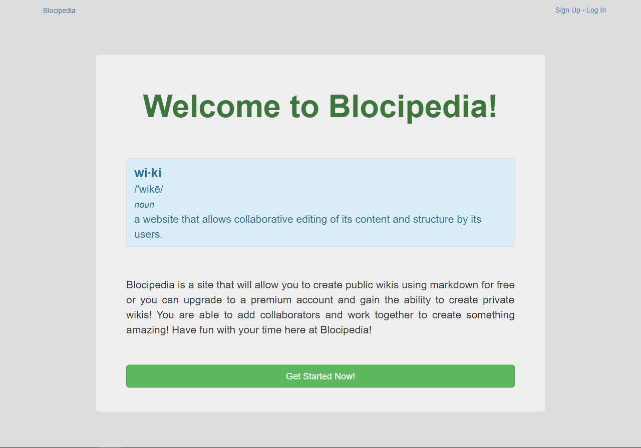 Blocipedia