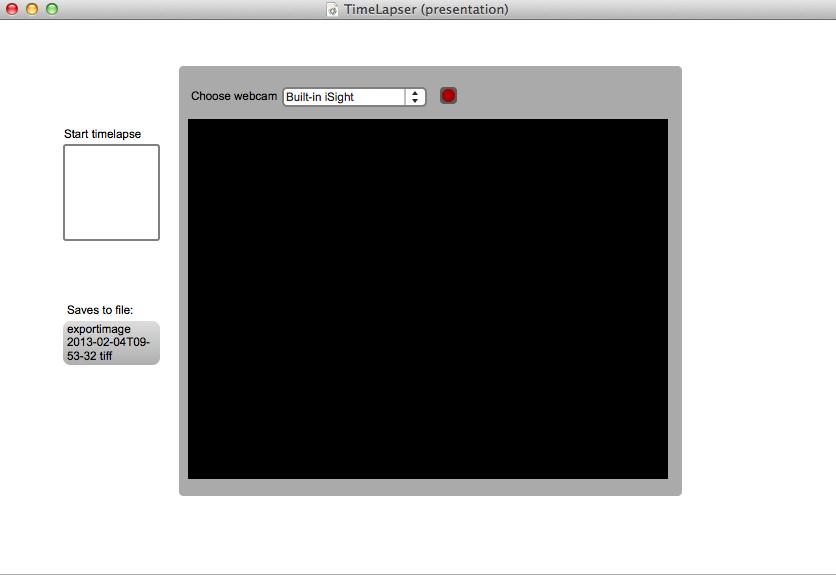 TimeLapser screenshot