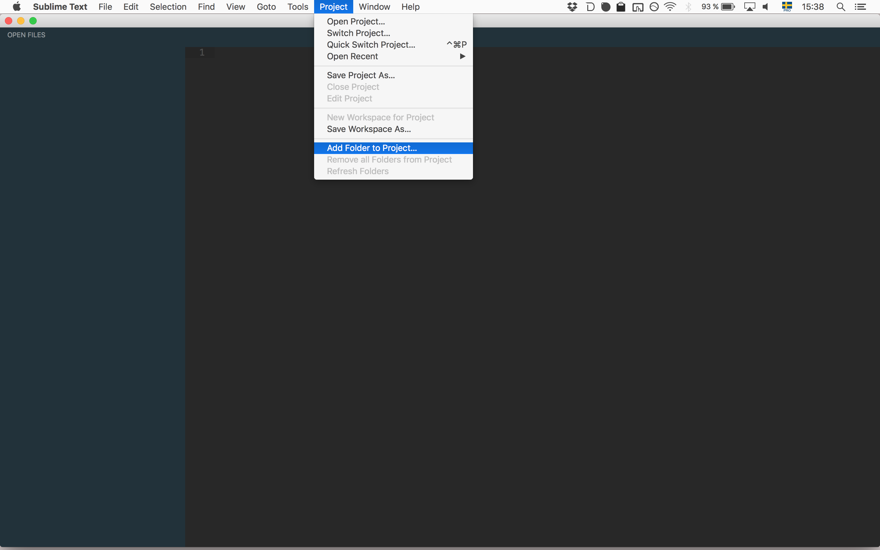 Create Projects in Sublime Text 3 · GitHub