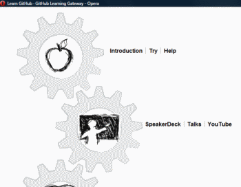 Homepage is either handcrafted cogs or raked with template