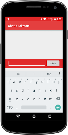 GitHub - TwilioDevEd/chat-quickstart-android: Chat Starter