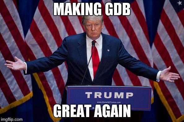 make-gdb-great-again