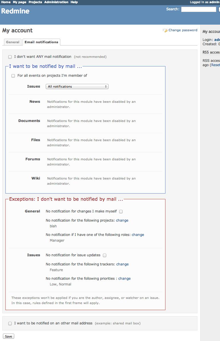 redmine_notification_center screenshot