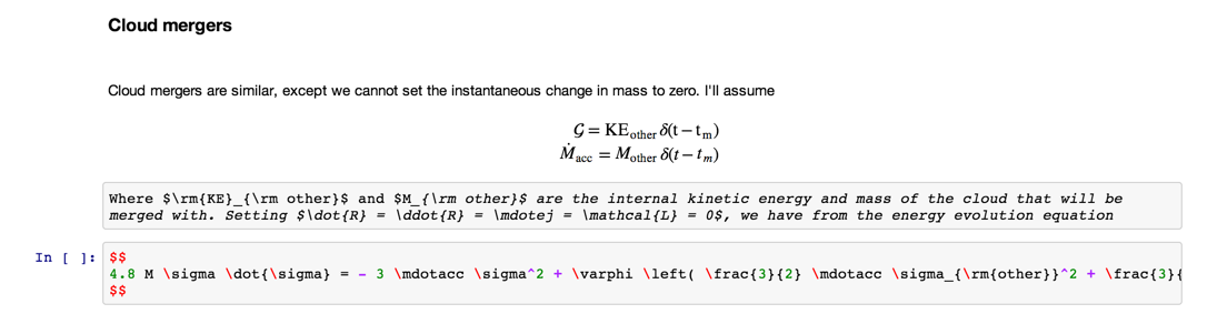 Inline math sequences shouldn't affect markdown code editor