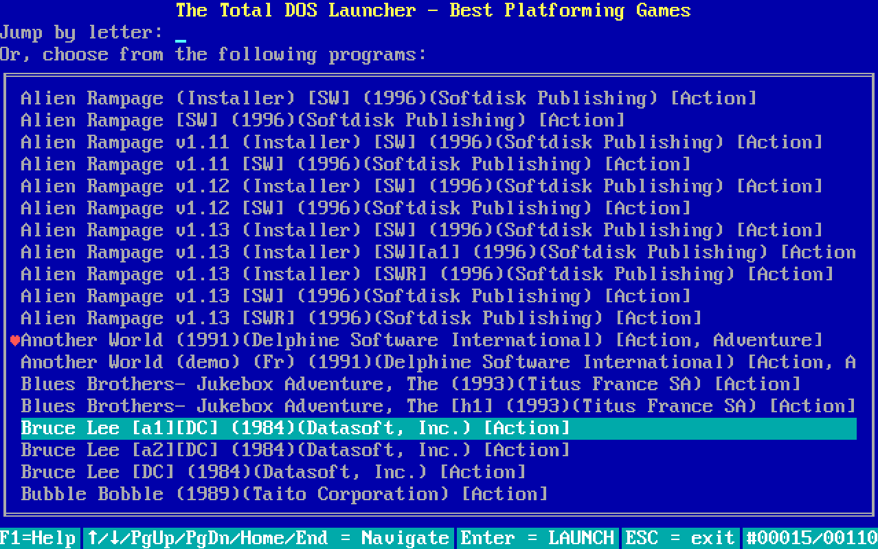 Total DOS Launcher