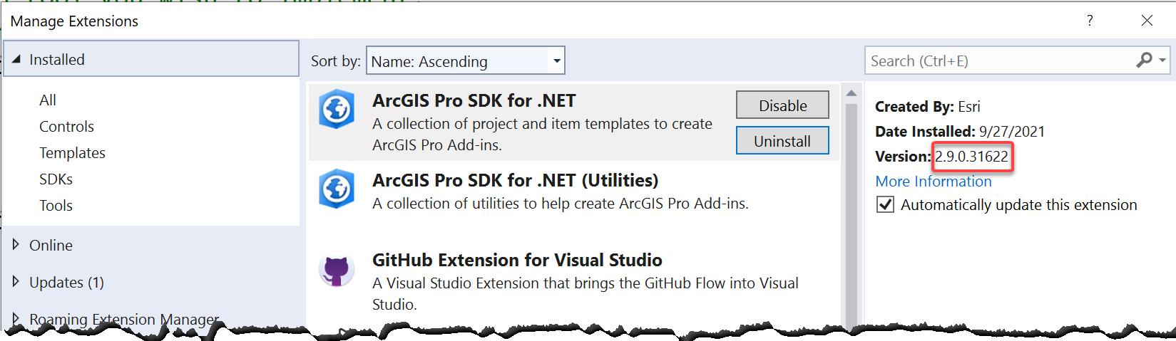 ProGuide Installation and Upgrade · Esri/arcgis-pro-sdk Wiki