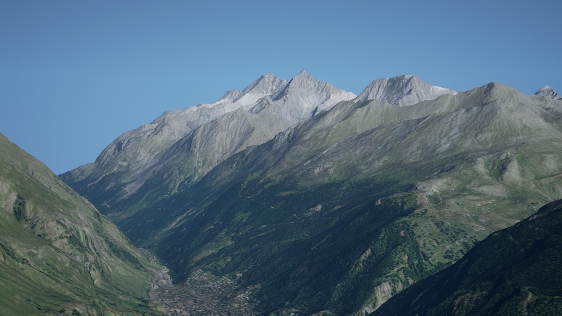 mountain without snow 2