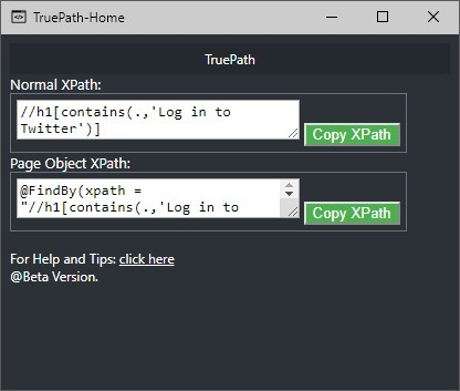 How to find Dynamic XPath in Chrome or Firefox using