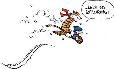 ...Let's go exploring!