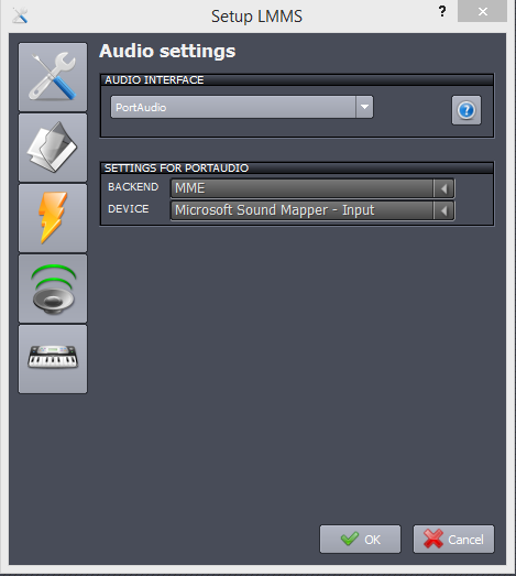 PortAudio does not work on Windows · Issue #89 · LMMS/lmms · GitHub