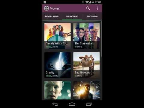 Video f Android Sample App: Movies