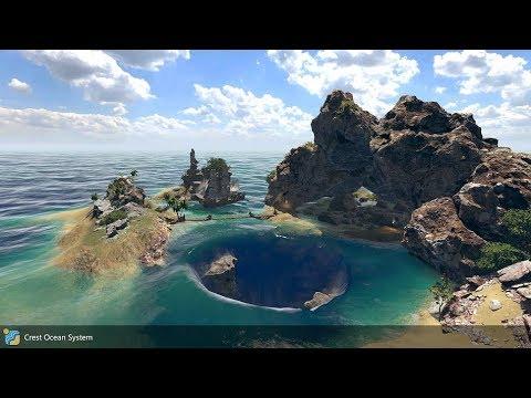 Crest Ocean System - Pirate Cove Example Scene