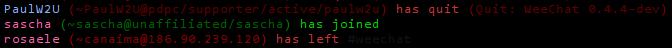 join/part/quit colors