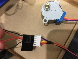 Stepper wiring