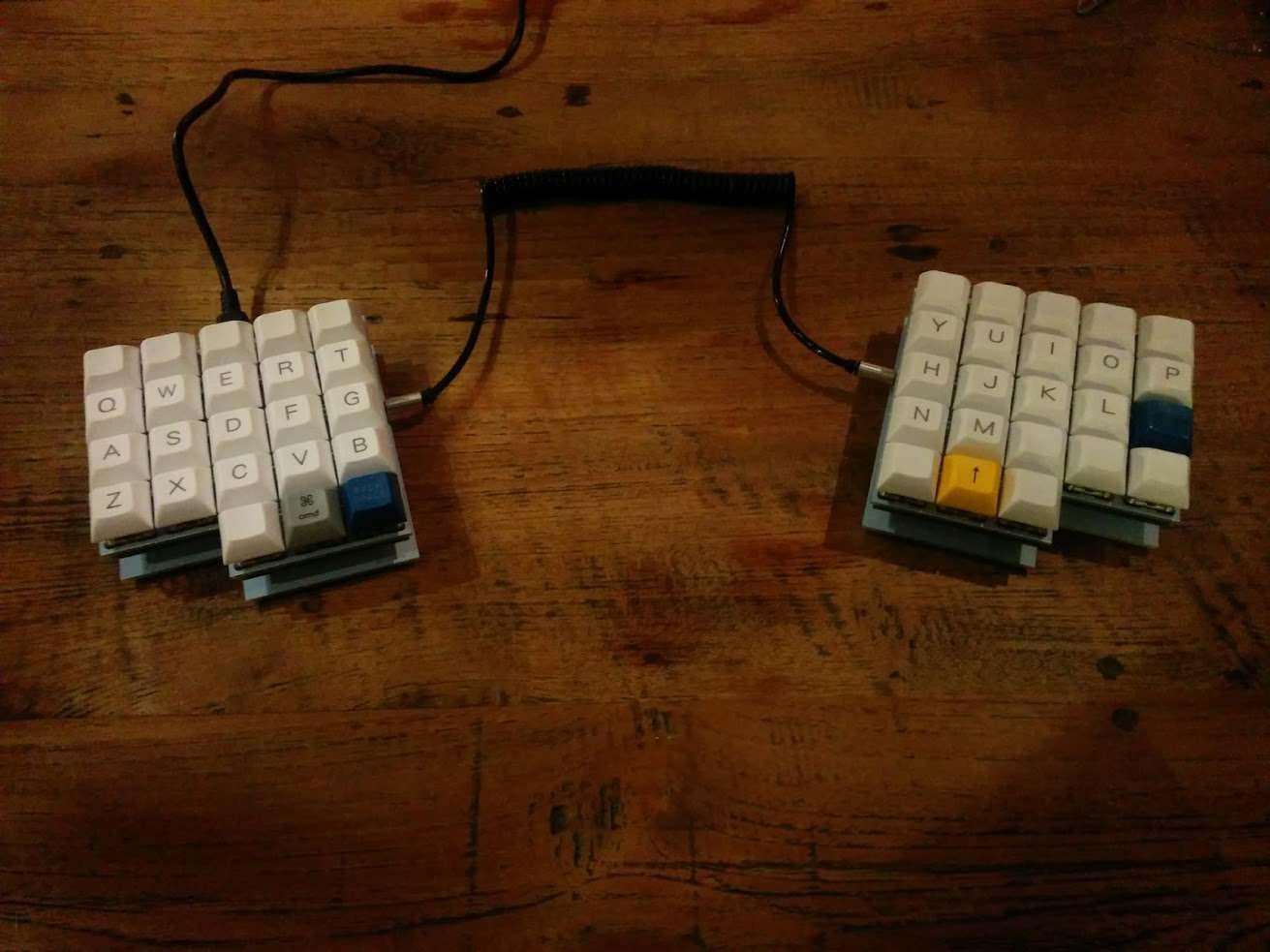 Final assembled keyboard