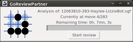 Screen-shot of GoReviewPartner: Analyse running