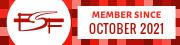 FSF Associate member since October 2021