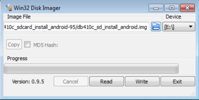 DragonBoard™ 410c Linux Install · sdrobertw/96Boards_demo_8Ball Wiki