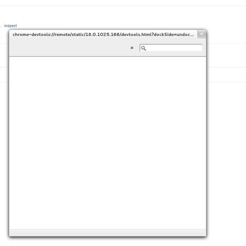Inspect opens an empty window · Issue #14 · googlearchive/ADBPlugin